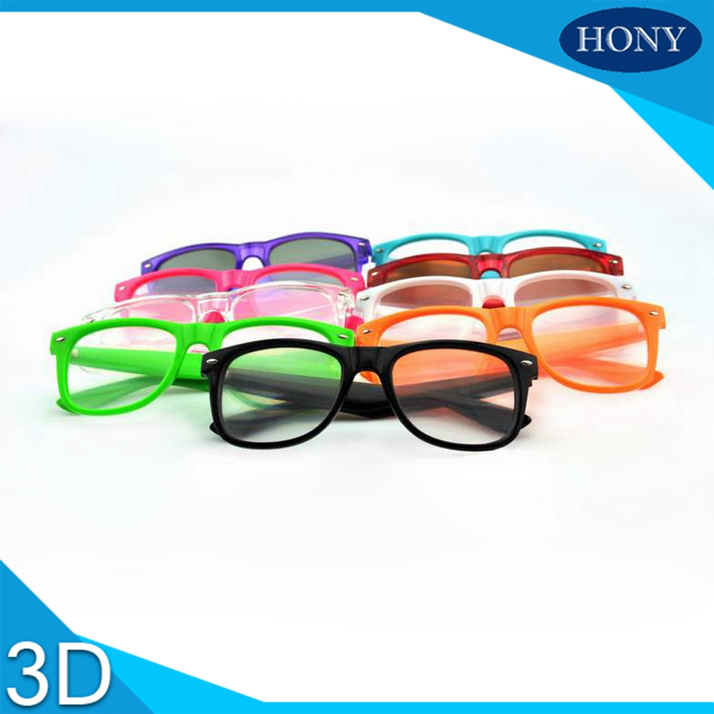 10pcs Packs Crazy Funny Club Amazing 3D Rave Prisms Party Diffraction Gratings Glasses Light Fireworks Glasses