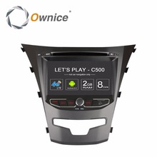 Ownice C500 Android Vehicle dvd gps Navigation Entertainment System Multimedia Video player for ssangyong actyon 2014 korando