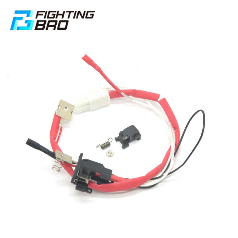 Fighting Bro LARGE CAPACITY SWITCH ASSEMBLY Suitable For Ver.2 Gearbox Rear Wiring Airsoft AEG Accessories-in Paintball Accessories from Sports & Entertainment