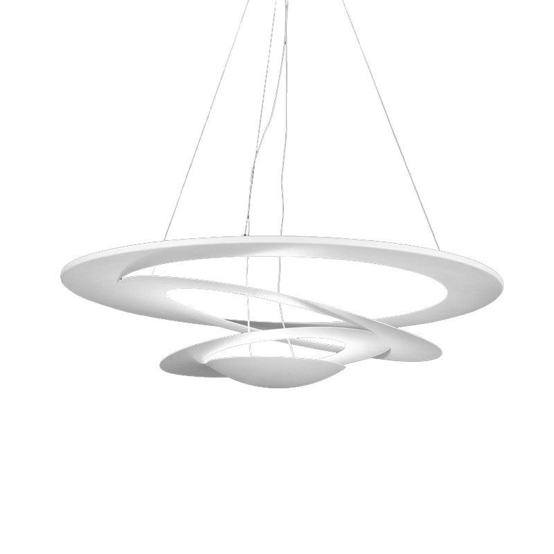 The Cheapest Price Wonderland Art Modern Pendant Lamp Creative Cyclotron Rotary Swing Dia 50cm/65cn/80cm White R7s/led Nordic Design New Hot Pll-30 Pendant Lights Ceiling Lights & Fans