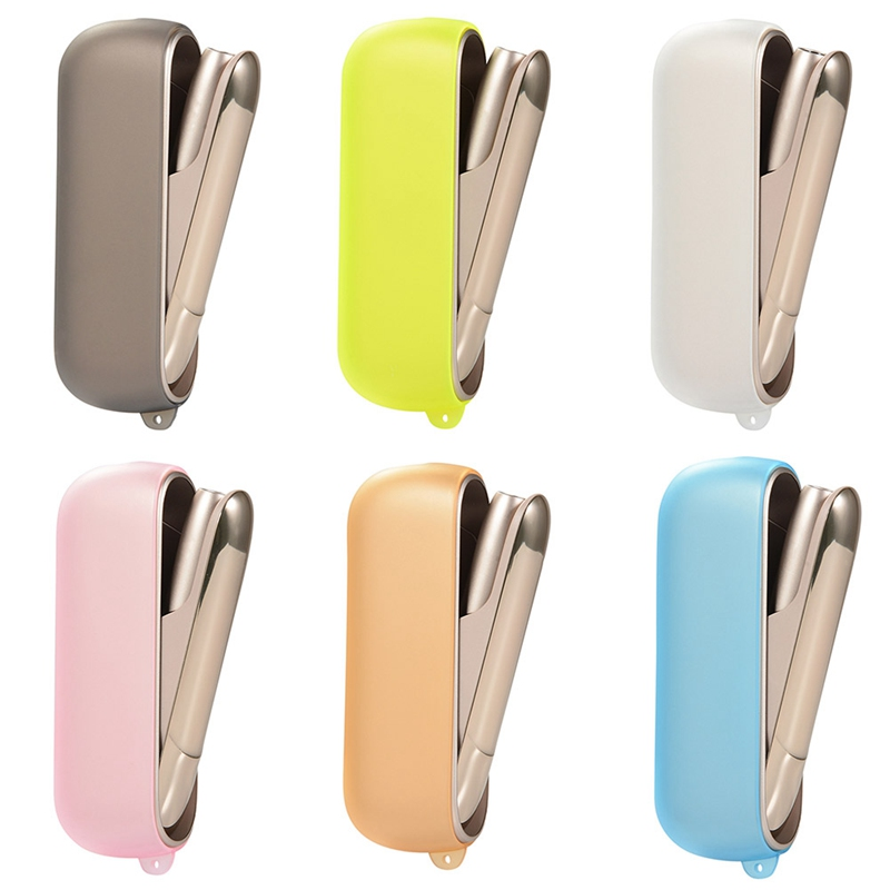ABS Side Flip Cover Replaceable for IQOS 3.0 Magnetic Plating Plate Caps