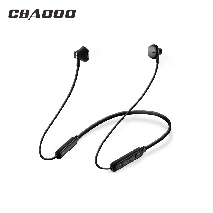 Competent Cbaooo Hws Bluetooth Earphone,12 Hours Music Play Wireless Headphones Sport Bluetooth Earphone Stereo Headset With Mic For Phone