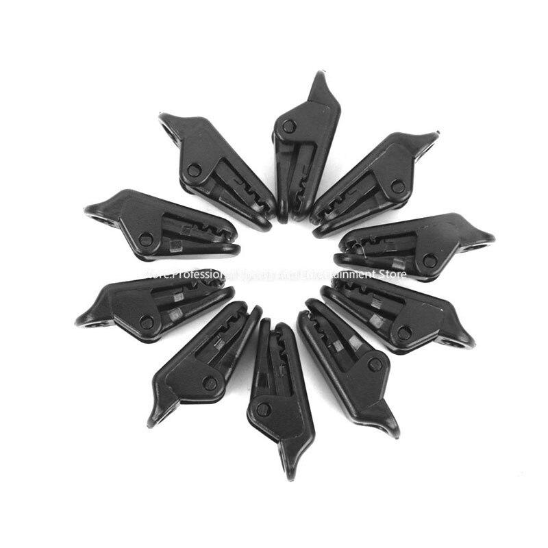 10 unids Toldo Clamp Clips de Lona Complemento Perchas Tienda Supervivencia Que