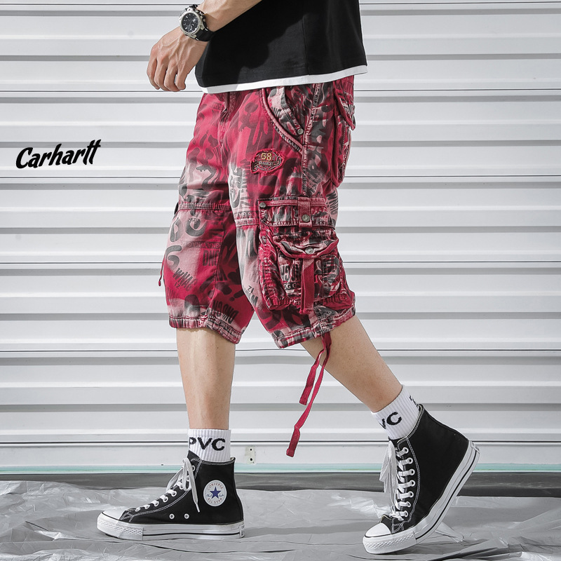 Camouflage Camo Cargo Shorts Men 2019 Summer Fashion Mens Casual Male Cotton Loose Workout Military Plus Size Men 39 s Short Pants in Casual Shorts from Men 39 s Clothing