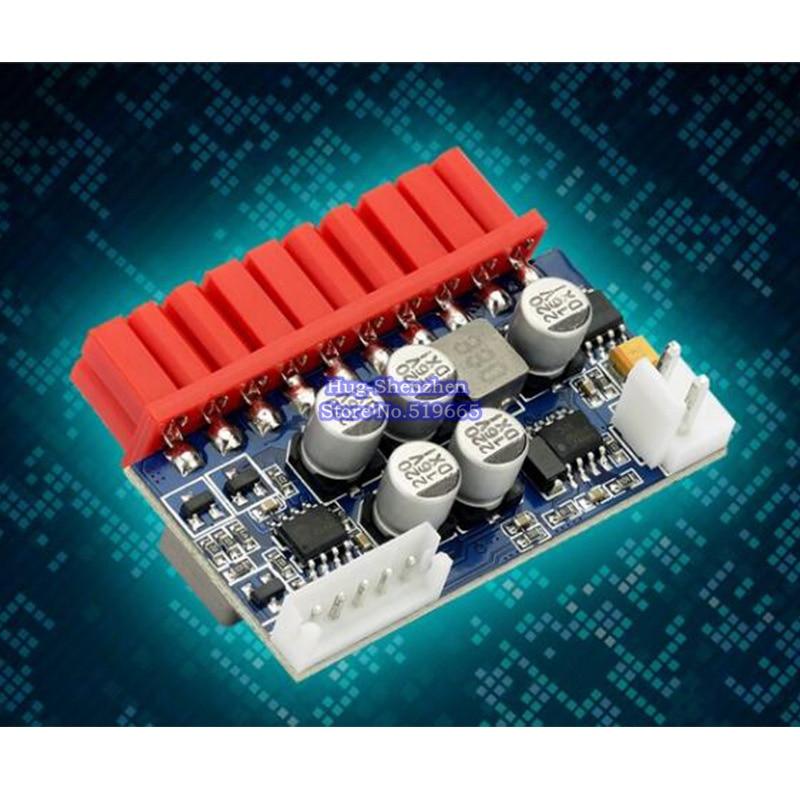 Плата преобразования встроенного модуля питания Mini ITX, 90 Вт, 12 В, 20pin, низкая мощность, NAS