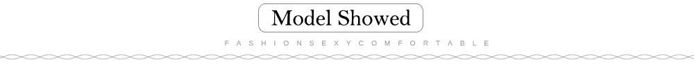 Model showed-