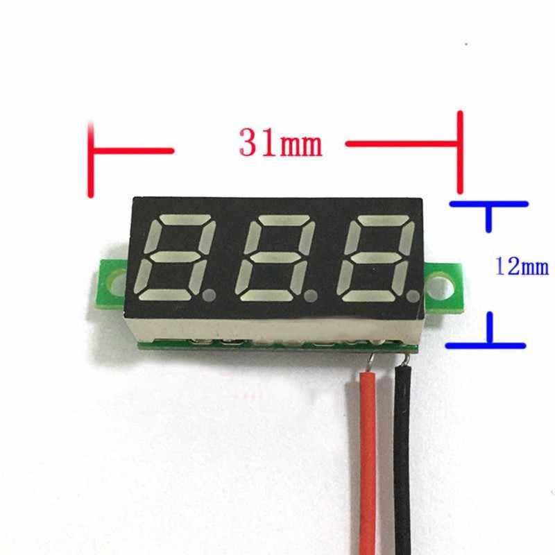 Gelbe LED Panel Meter Digital Voltmeter DC 0-30V