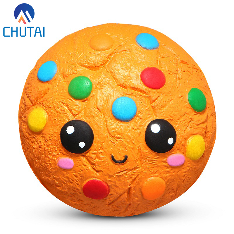 Jumbo Squishy Food Chocolate Cookie Squishies Cream Scented Slow Rising Stress Relief Toy Kids Birthday Party Xmas Gift 11*5.5CM