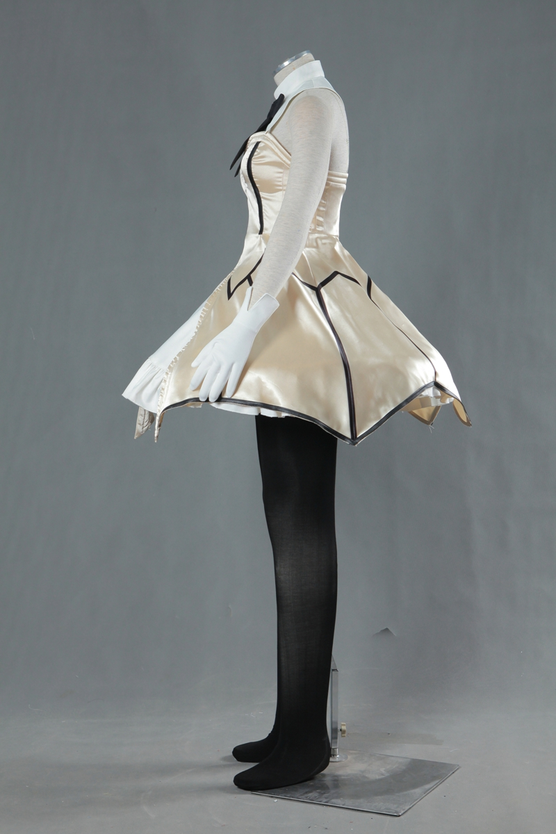 Hot Games Anime Fate Stay Night Zero //Zero Saber Lily Cosplay Costume Dress