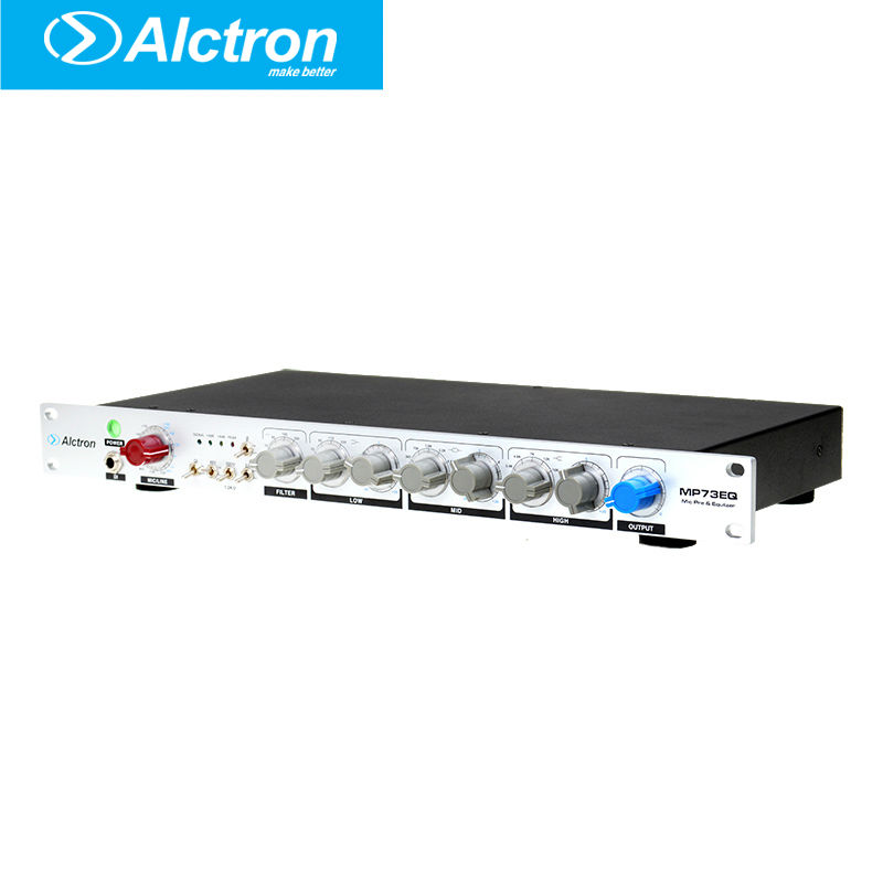 все цены на Alctron MP73EQ High-End Microphone/Instrument Preamplifier and Equalizer,Pro Mic/Line Preamplifier, Mic Preamp and EQ онлайн