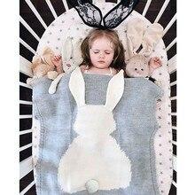 Кролик одеяло роскошный для фотосессий подарок для малышей объявление о рождении Детские Декор получения Одеяло мальчик одеяло для улицы Одеяло