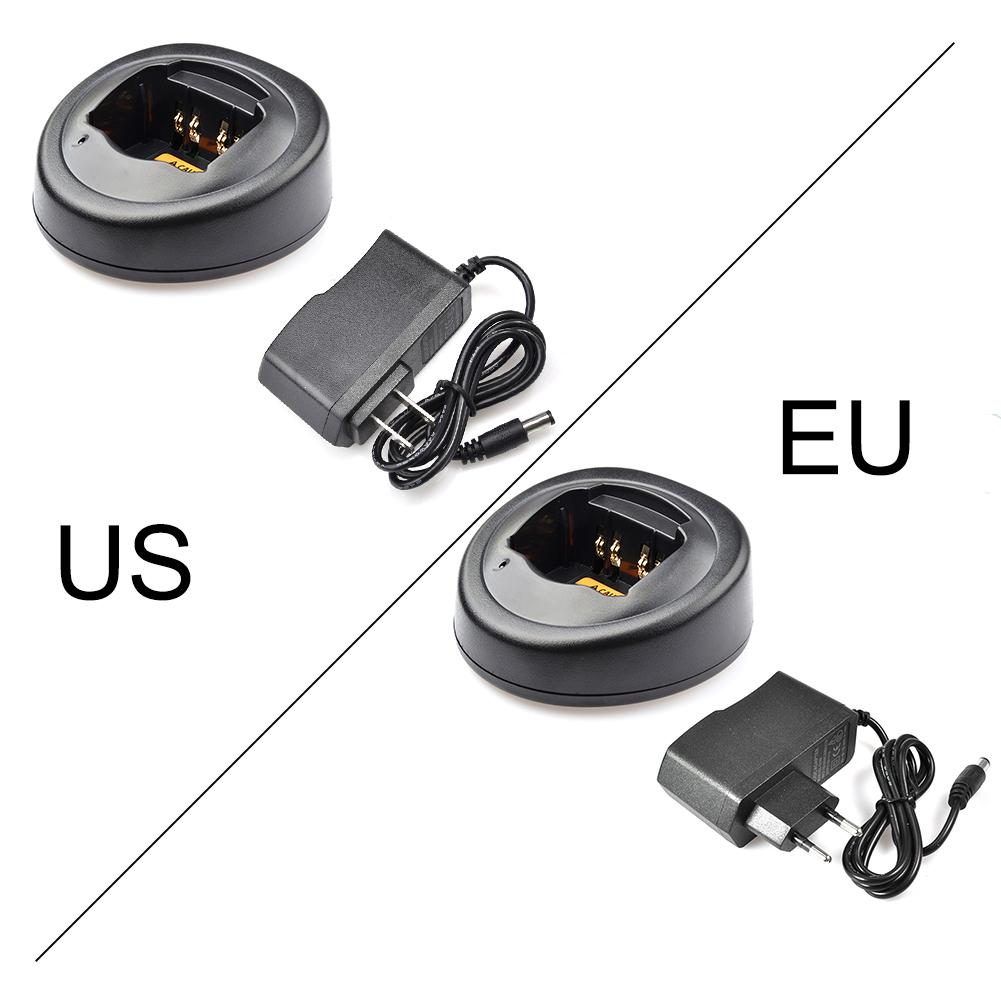 EU US Battery Charger Base For Motorola Radio GP328 GP340 GP338 PRO5150 Walkie Talkie Interphone Charger For Motorola PRO5150