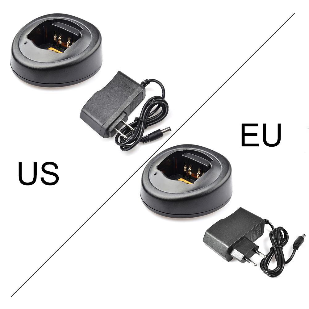 EU US Battery Charger Base For Motorola Radio GP328 GP340 GP338 PRO5150 Walkie Talkie Interphone Charger For Motorola PRO5150