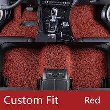 8 colors Custom fit car floor mats Case for 911 Porsche Cayenne SUV Cayman Macan Panamera