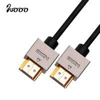 Ultra Super Slim HDMI Cable 2 0V With Ethernet 3D Support 4K 2K 2160P For HDTV