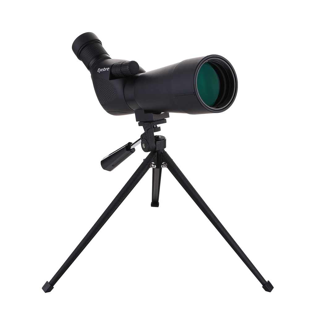 20 60x60 Waterproof Spotting Scope Birdwatch Hunting Monocular Portable Travel Scope Monocular Telescope with Tripod for Camping in Monocular Binoculars from Sports Entertainment