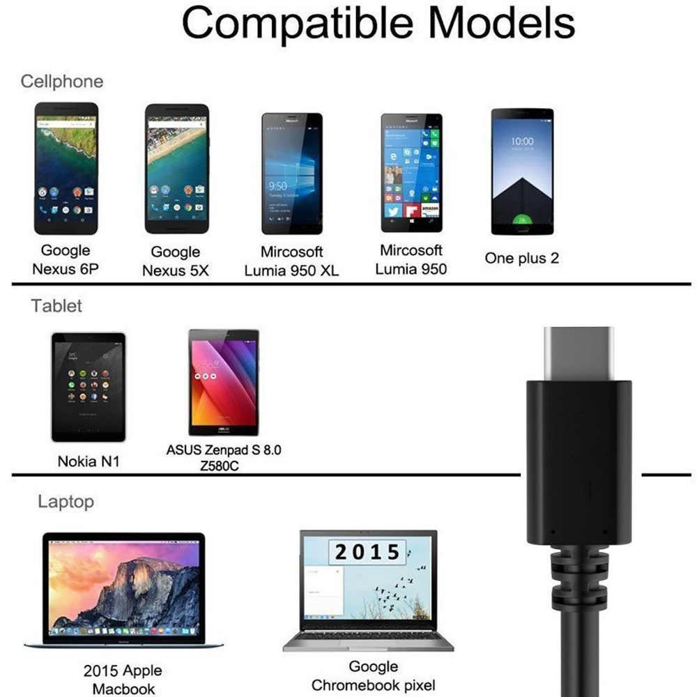 USB C adaptador de OTG tipo-C OTG Cabo para Huawei P20 P30 Pro Nexus 5X Nexus 6 P Xiaomi mi 9 mi 9 mi 4c Oneplus 7 Uno más 6 with typec
