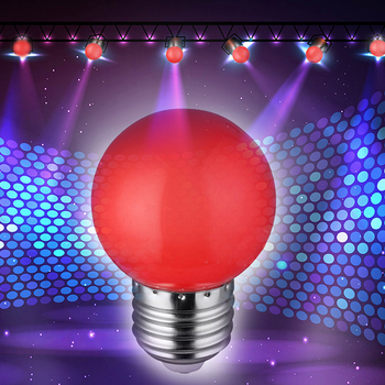 LAIDEYI Hot selling E27 1W Energy Saving Colorful LED Bulb Incandescent Christmas Party New Year Decoration Indoor Night light image
