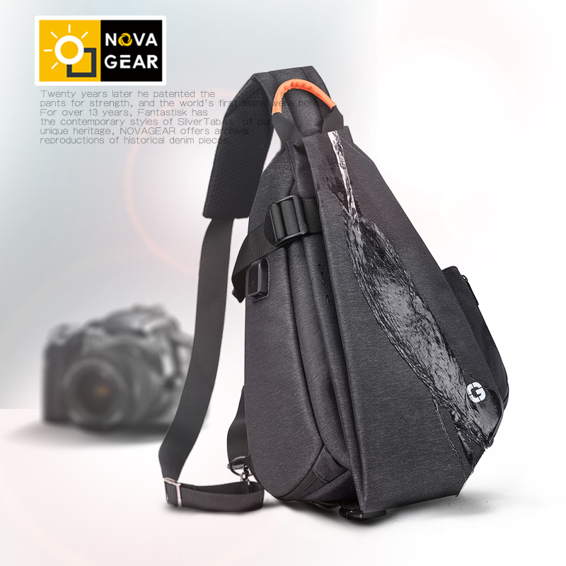 Image 2 - Lightweight waterproof anti theft shockproof digital camera shoulder bag photography men and women portable SLR camera backpack-in Camera/Video Bags from Consumer Electronics