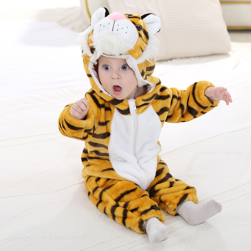 e7797d458d8 KID STATION) baby boy girls rompers clothes new born baby Cartoon ...