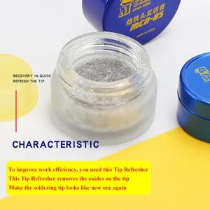 Image 3 - MECHANIC Soldering Tip Refresher Clean Paste for Oxide Solder Iron Tip Head Resurrection Cream Soldering Accessory