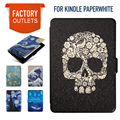 Kindle Paperwhite Case cover for Amzon Kindle paperwhite 1 2 3,2015 K5 Silk Texture Synthetic PU Leather with Built-in Magnets