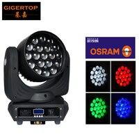 TP-L640B 19 Вт 12 Вт 4in1 Osram зум луч светодио дный Moving головной свет DMX512 высокое качество Стирка 16 Chs RGBW Professional этап Освещение