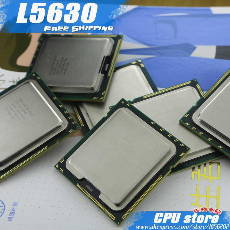 إنتل سيون L5630 معالج وحدة المعالجة المركزية/2.13 GHz/LGA1366/12 MB/L3 ذاكرة التخزين المؤقت/رباعية النواة/خادم وحدة المعالجة المركزية شحن مجاني ، وهناك ، بيع L5640 وحدة المعالجة المركزية