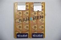 Mitsubishi 10 pçs/lote TCMT16T304 US735 TCMT16T308 US735 CNC inserções  Moinho de Cara Ferramentas de Torno CNC de corte ferramenta
