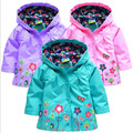 Children Winter Outwear Hooded Jacket Boys Girls Jackets Coats Children's Coat Spring/Autumn Fashion Children Raincoat Clothing