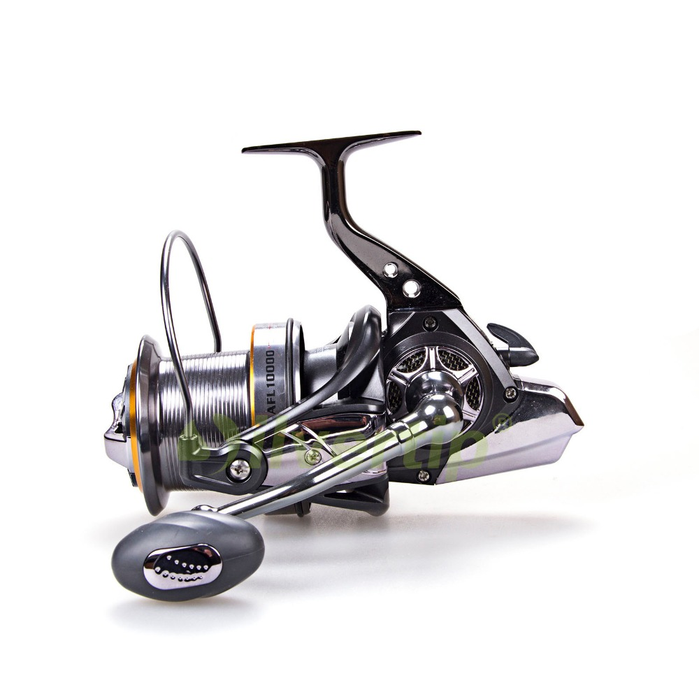 New 10+1 BB Big Game Spinning Fishing Reel AFL 11000 Long Shot Cast Surf Reels Sea Fish Saltwater lawaia 11 axis drop round saltwater fishing reels big games speed ratio 6 3 1 cup capacity 2 210 carp fishing reel fish vessel