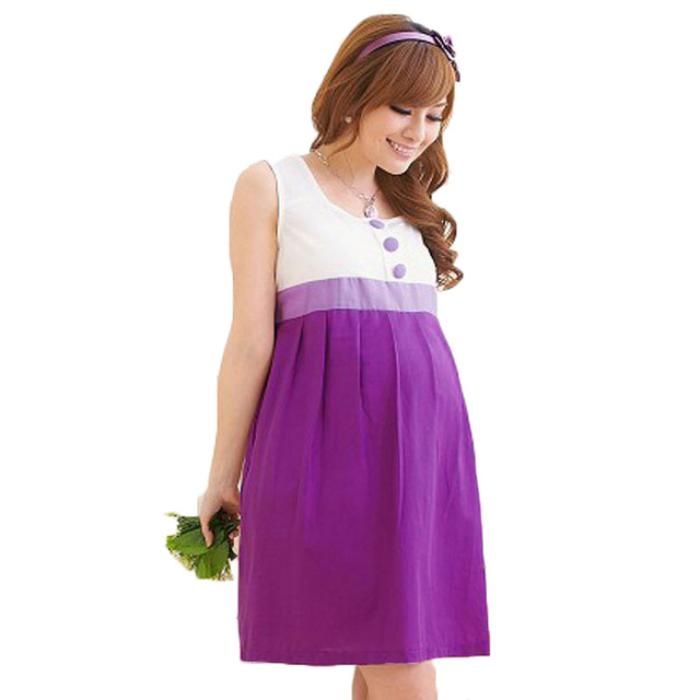 Newly Summer Maternity Dress for Pregnant Women Clothing ...