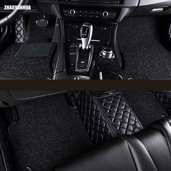 car floor mats for Mercedes Benz W203 W204 W205 C class 180 200 220 250 300 350 C160 C180 C200 C220 C300 C350 liners