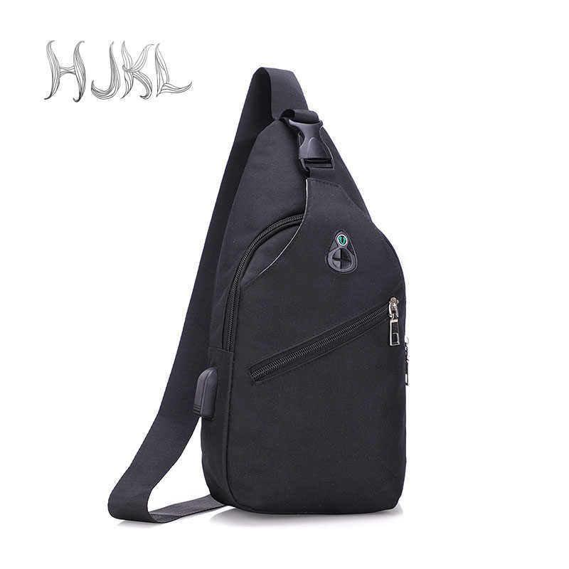 HJKL Mens Fashion Urban Boys Backpack Leisure Chest Pack Bags Men Small  Size Shoulder Unisex Rucksack 0f9c173f85e94