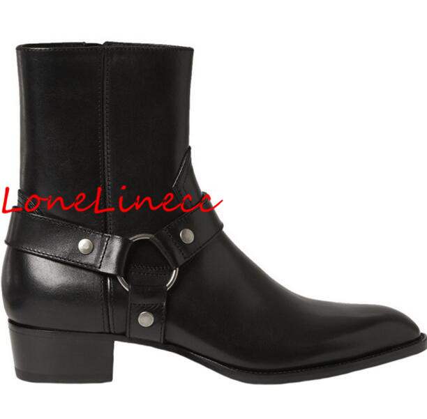 Genuine Leather New Men Flat High Top Chelsea Boots Side Zipper Cool Suede Men Style Ankle Boots Size 12 Round Toe Rome Male okhotcn vintage men chelsea boots genuine leather suede rome style man ankle boots zipper male casual buckle shoes sapato botas