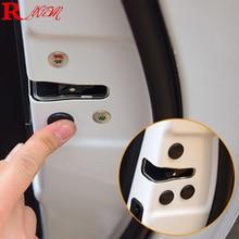 цена на 12PCS/Lot Car Door Lock Screw Protector Stickers Cover For Jeep Compass Renegade Grand Cherokee Wrangler