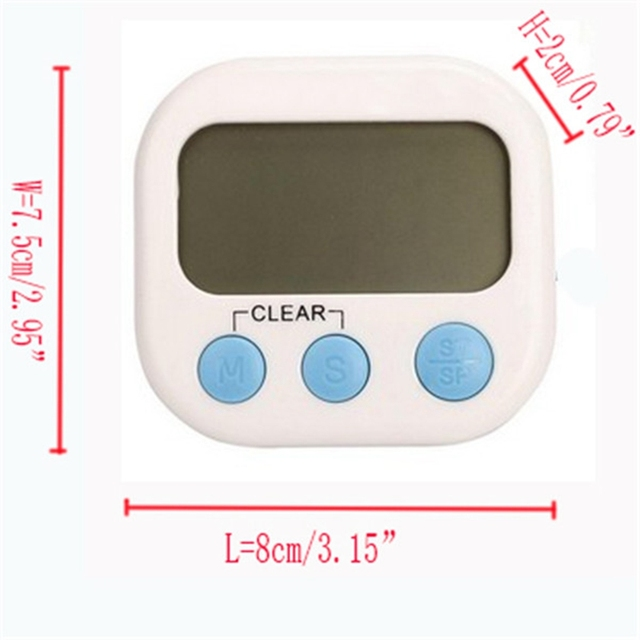 Cooking ware Large LCD Kitchen Timer