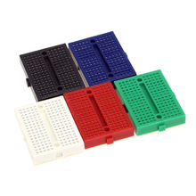 5pcs/set New Colorful Mini Solderless Breadboard 170 Tie Points Electronic Components Free Shipping