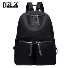 DIZHIGE Brand Luxury Waterproof Oxford Women Backpack Fashion Solid Multi-pocket Travel Bags High Quality School Bags For Women