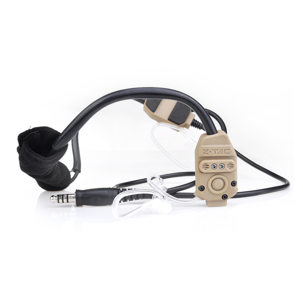 Z-TAC Softair Earphone Element Z-TAC X-62000 Headset Hunting Tatical Military Arsoft Z Tactical Midland PTT Radio Set Headphone z tactical military headset headphone airsoft radio comtac ipsc od for ptt military radio z 111