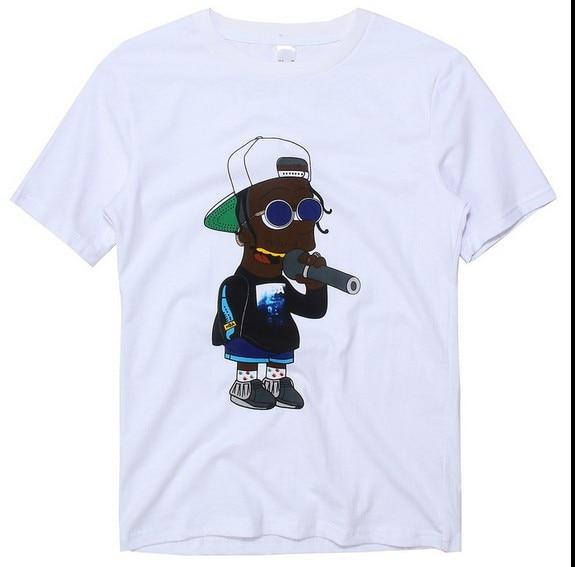 New Hiphop Tees Asap Roc Hiphop Loose Short Sleeved T Shirt Vsvp