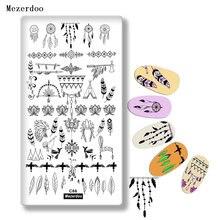 Пластины для стемпинга шаблоны дизайна ногтей изображение индийских