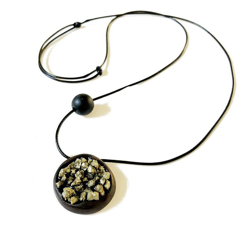 Free Shipping New Special Design Natural Stone Wooden B Adjustable Vintage Pendant Oriental Women Necklace