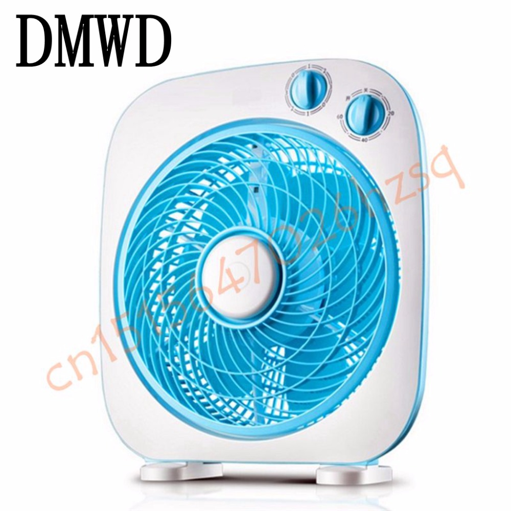 DMWD Electric Table Fan Student Dormitory Page fans Home Mute Desktop Cooling Portable Wind Machine with 3 Speed Level цена 2017