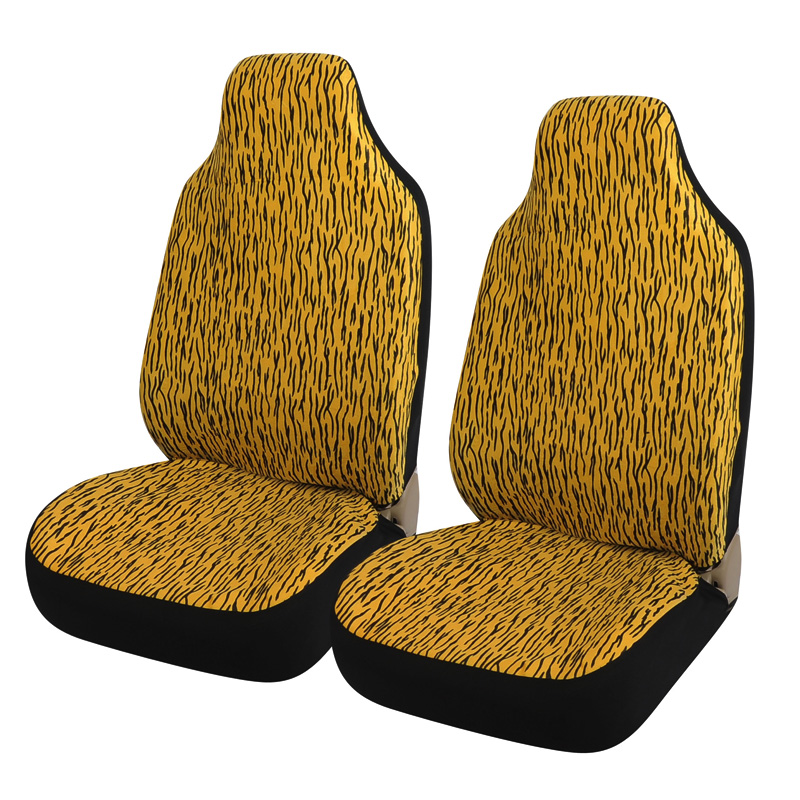 car covers luxury leopard print car seat cover universal tire track detail styling seat covers. Black Bedroom Furniture Sets. Home Design Ideas