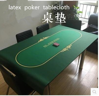 freeshipping by EMS poker tablecloth mats rubber mat Hold em tablecloths rubber pad chips