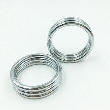 Мужской Задержка пениса металлическое кольцо массаж Cock кольцо COCKRING полового члена Задержка эякуляции кольцо секс-игрушки для взрослых Продукты