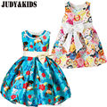 For Girls Fancy Dress Party Summer Clothes Christmas Costumes New Year Evening Dresses Robe Child Carnival Flower Print Princess