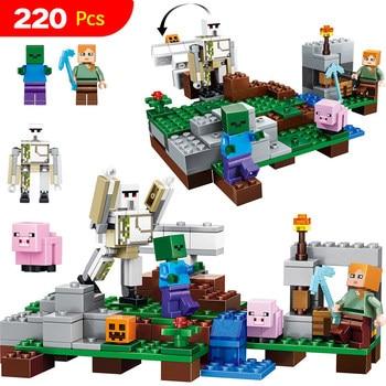 My World Minecraft Eisen Golem Set