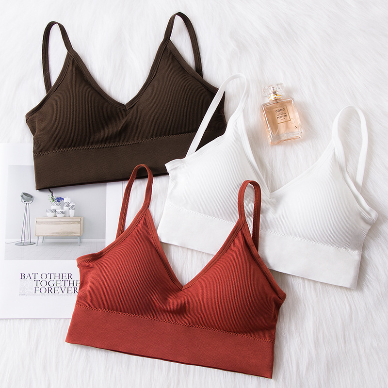 Active Bra Female Cuasl Push Brassiere Women Sexy Lingerie Ladies Wire Free Fitness Bralette Running Bra Women Intimates 2019